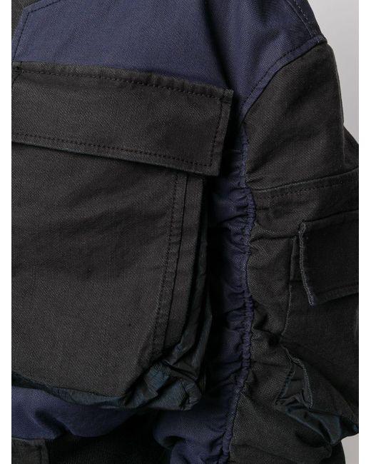 DIESEL クロップド ボンバージャケット Black