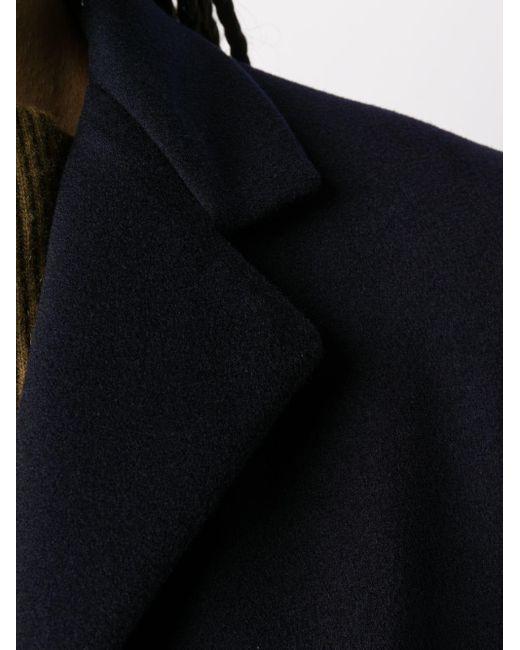 Alberto Biani シングルコート Blue