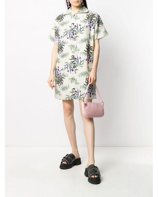 KENZO Sea Lily プリント ドレス Multicolor