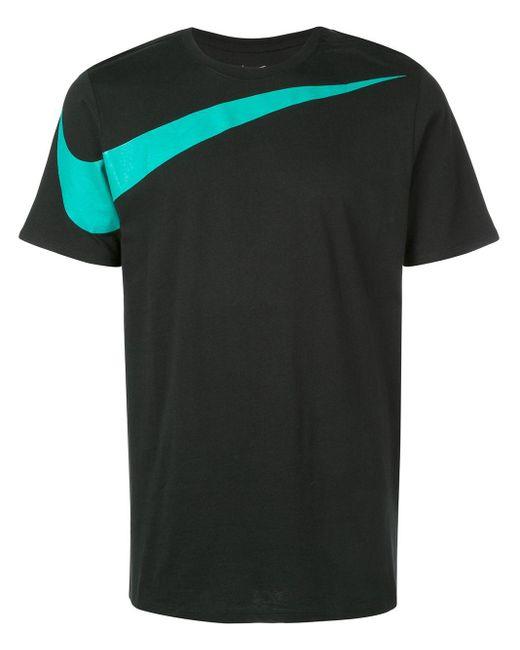 メンズ Nike Swoosh Tシャツ Black
