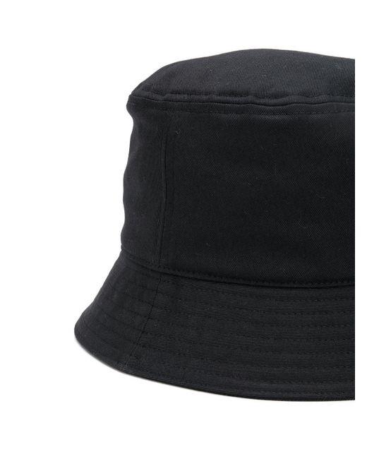 メンズ Valentino Garavani Vltn バケットハット Black