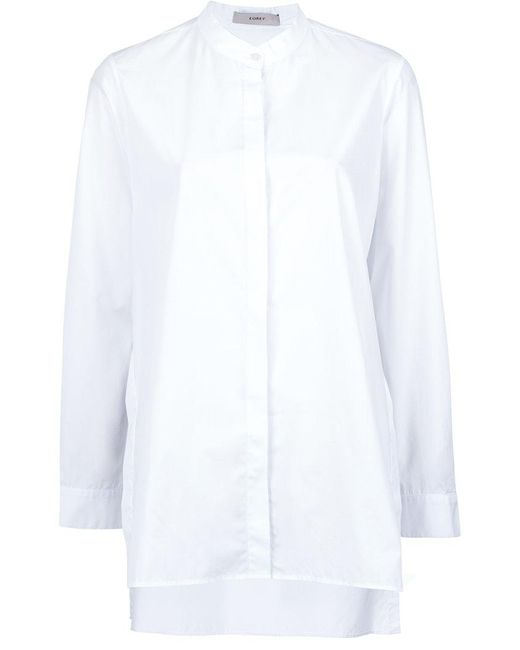 Egrey - White Long Sleeved Shirt - Lyst