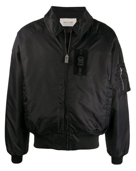 メンズ 1017 ALYX 9SM ジップ ボンバージャケット Black