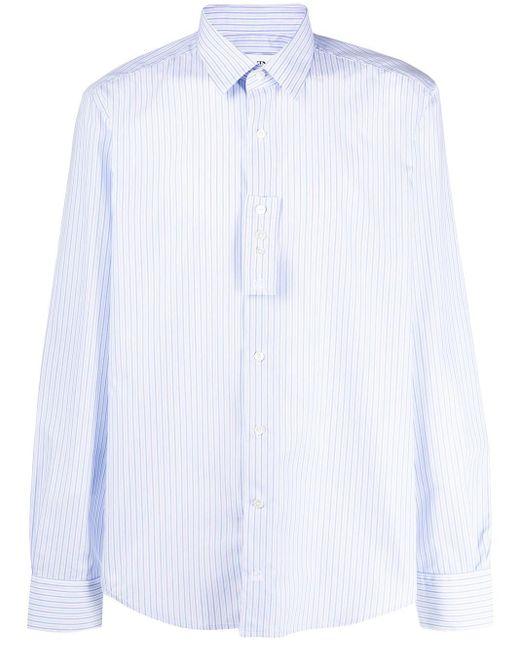 メンズ Lanvin ストライプ シャツ Blue