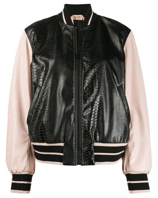 N°21 ボンバージャケット Black
