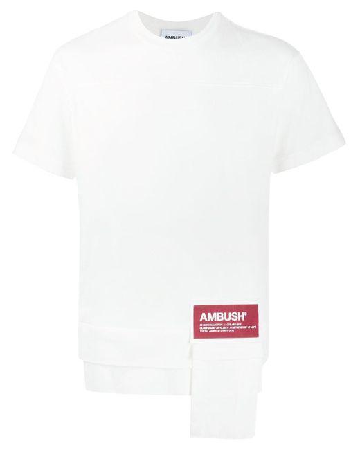 T-shirt con applicazione di Ambush in Multicolor