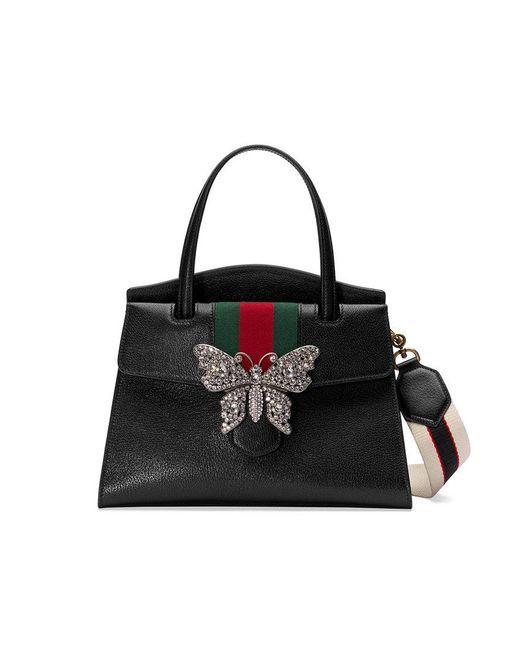 Gucci - Black Totem Medium Top Handle Bag - Lyst