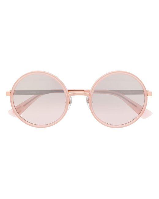 DIESEL ラウンドフレーム サングラス Pink