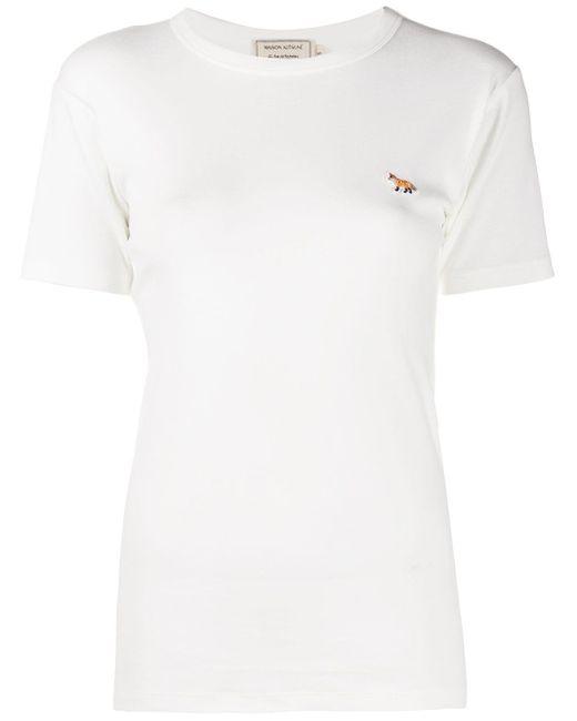 Maison Kitsuné フォックスモチーフ Tシャツ White