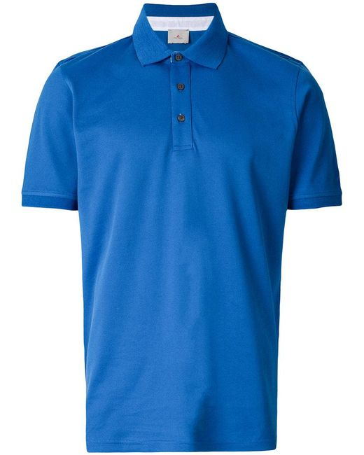 Peuterey - Blue Klassisches Poloshirt for Men - Lyst