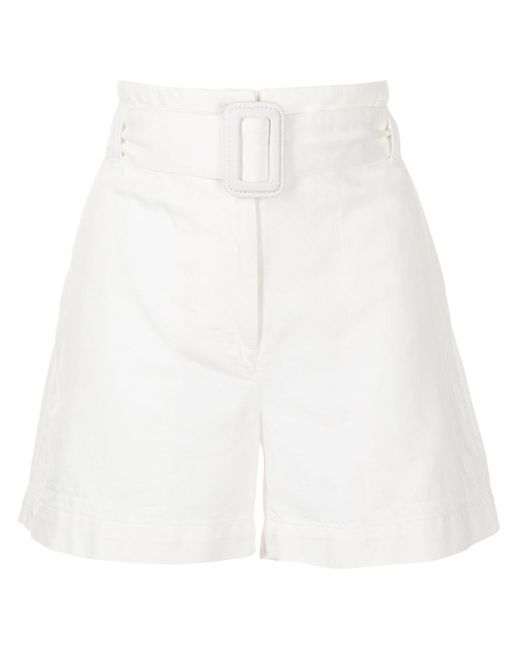 PROENZA SCHOULER WHITE LABEL ベルテッド ショートパンツ White