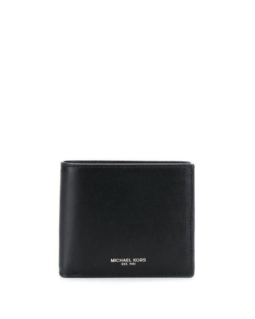 MICHAEL Michael Kors Black Logo Bi-fold Wallet