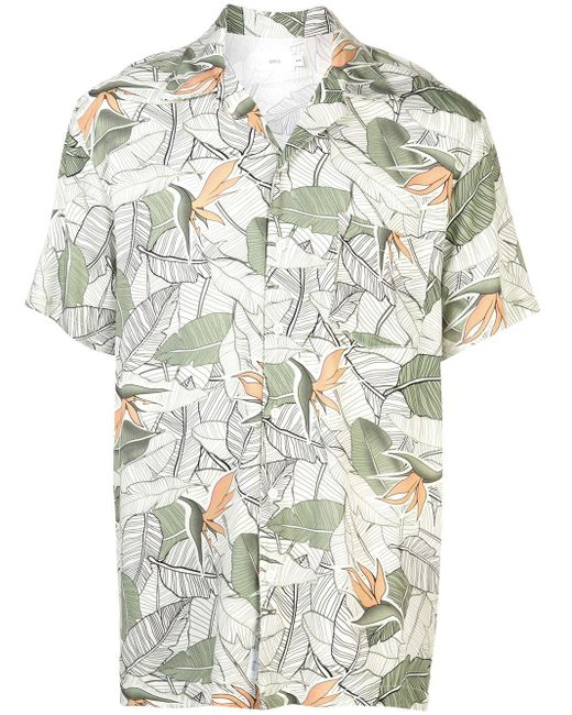メンズ Onia Birds Of Paradise Vacation シャツ Multicolor
