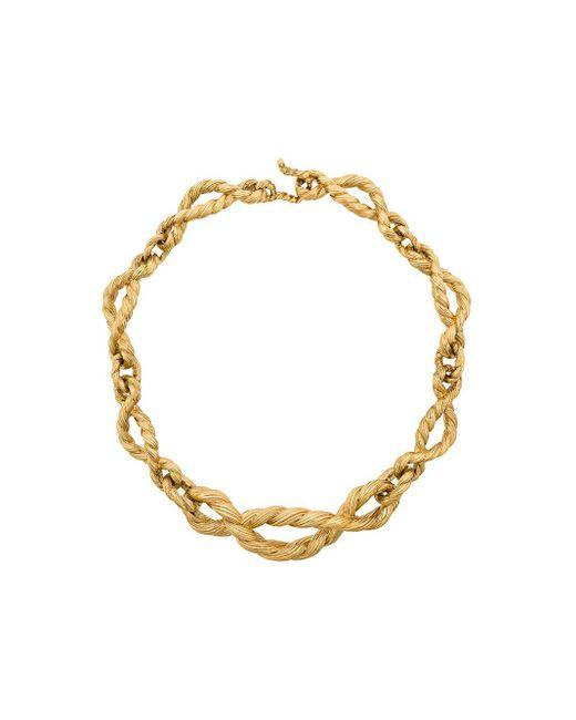 Collar Lola Aurelie Bidermann de color Metallic