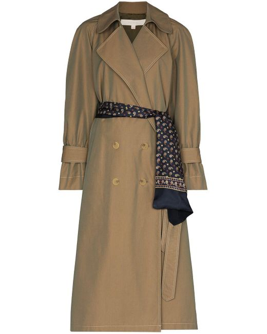 Trench doppiopetto di By Any Other Name in Brown
