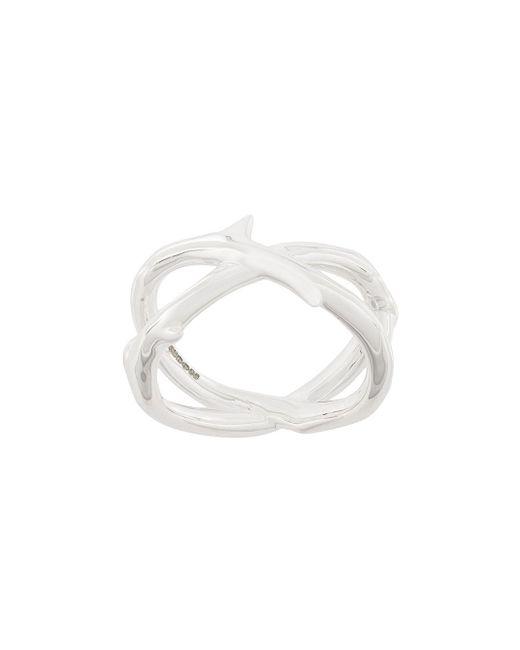 Shaun Leane Metallic Rose Thorn Ring for men