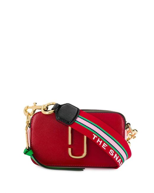 Marc Jacobs Red The Snapshot Camera Bag