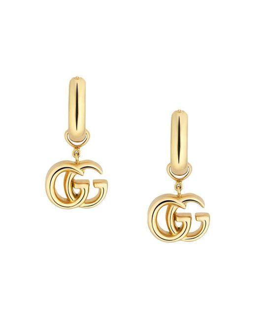 Gucci グッチ公式GGランニング イエローゴールド ピアス18k イエローゴールドcolor_descriptionイエローゴールド Metallic