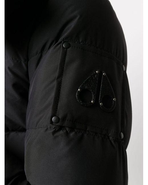 メンズ Moose Knuckles パデッドジャケット Black