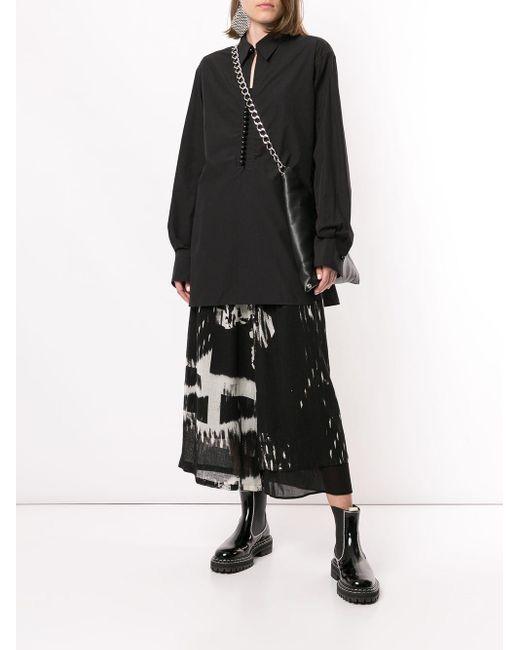 Y's Yohji Yamamoto オーバーサイズ シャツ Black