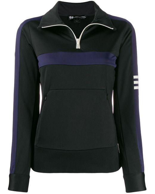 Y-3 パネル スウェットシャツ Black