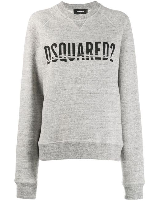 DSquared² ロゴ スウェットシャツ Gray