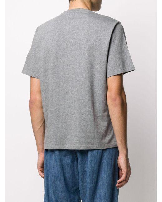 メンズ Golden Goose Deluxe Brand ロゴ Tシャツ Gray