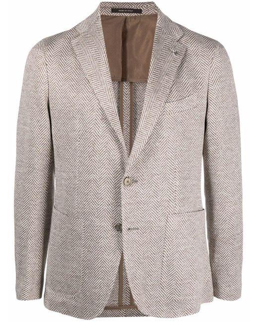 メンズ Tagliatore シングルジャケット Multicolor