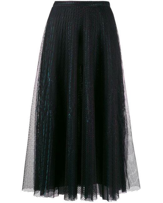Юбка В Сетку Marco De Vincenzo, цвет: Black