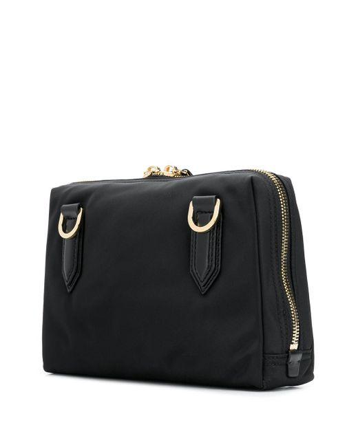 メンズ Dolce & Gabbana ロゴ メッセンジャーバッグ Black