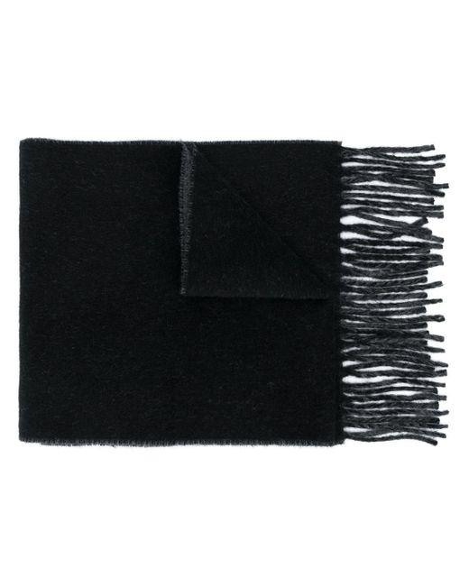 Vivienne Westwood Black Logo Intarsia Scarf for men