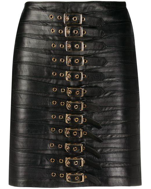 Manokhi Dita バックル スカート Black