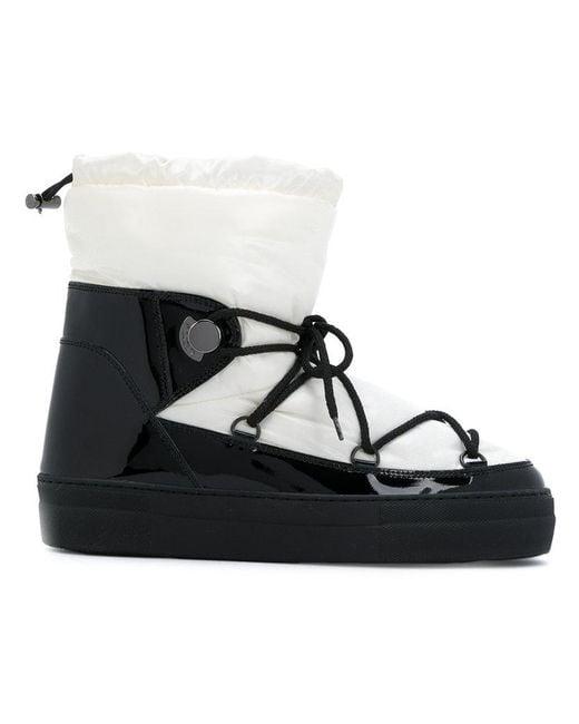 5422360fe974 Lyst - Moncler Ynnaf Boots in Black