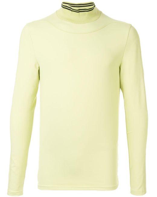 メンズ Qasimi Halley スウェットシャツ Yellow
