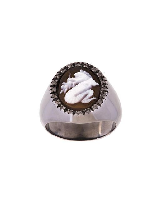 Amedeo - Metallic 'dragon' Ring - Lyst