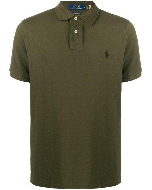 Polo Ralph Lauren Green Shortsleeved Polo Shirt for men