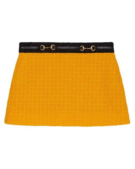 Gucci ツイード ミニスカート Multicolor