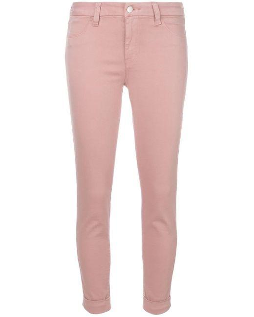 Jeans skinny di J Brand in Pink