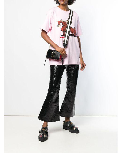 Прямоугольная Сумка Через Плечо 'snapshot' Marc Jacobs, цвет: Black