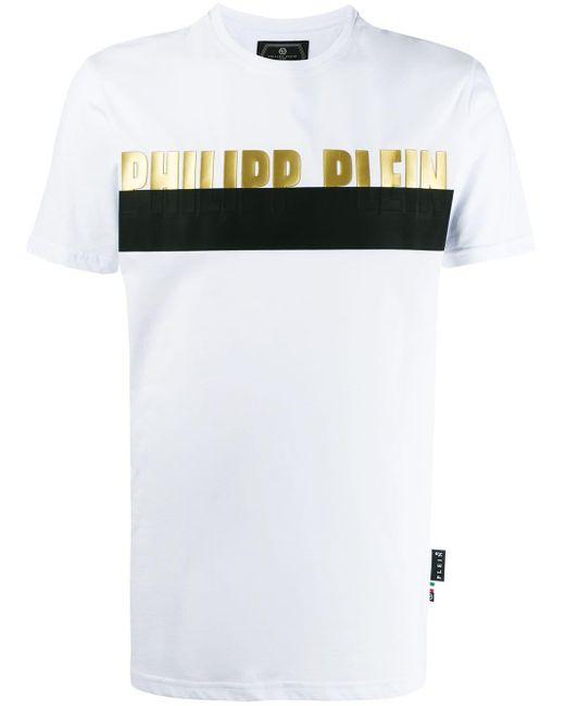 Футболка С Логотипом Philipp Plein для него, цвет: White