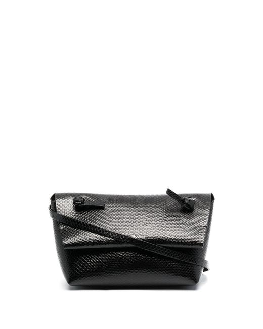 Acne ポーチバッグ Black