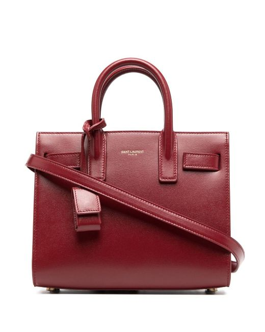 Сумка-тоут Sac De Jour Saint Laurent, цвет: Red