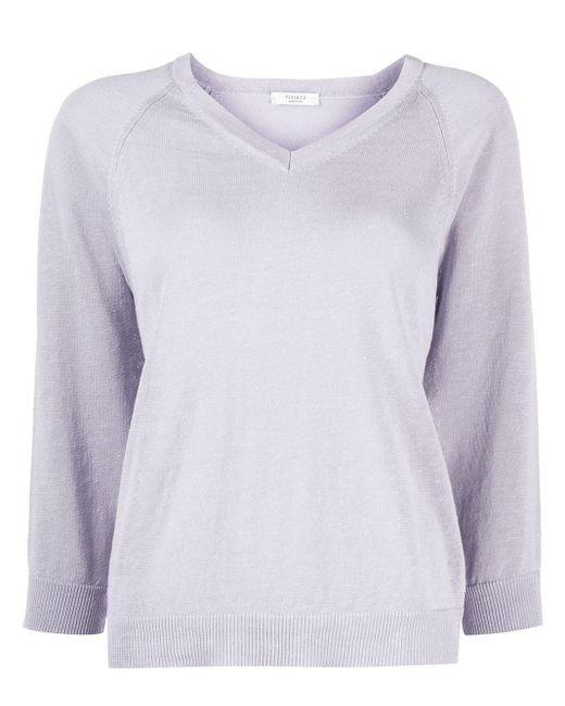 Peserico リブニット セーター Multicolor