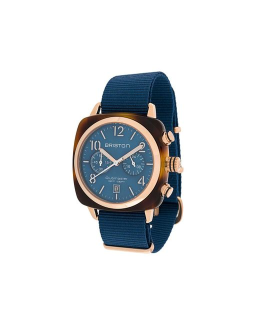 Briston Clubmaster Classic 腕時計 Blue