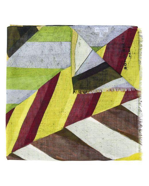 Sonia Rykiel カラーブロック スカーフ Multicolor