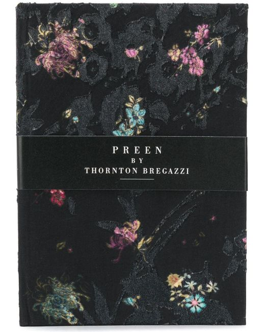 Preen By Thornton Bregazzi フローラル ブック Black