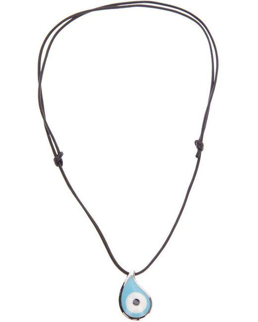 Gavello - Black 'bad Eye' Necklace - Lyst