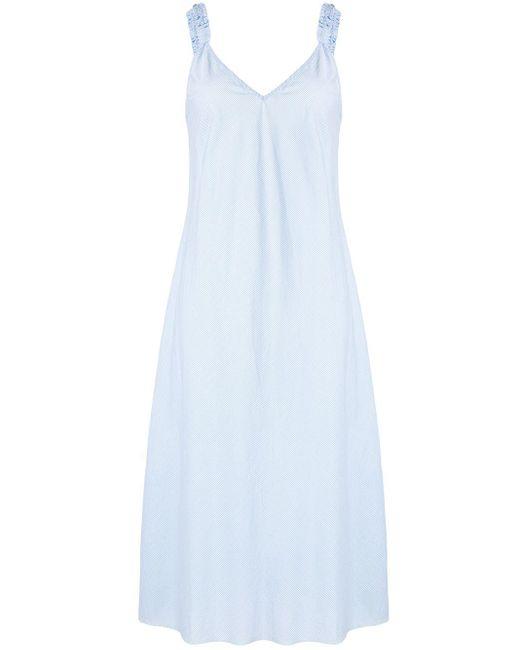 Venroy バイアスカット ドレス Blue