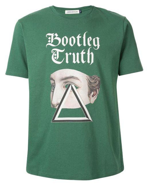 メンズ Undercover Bootleg Truth Tシャツ Green