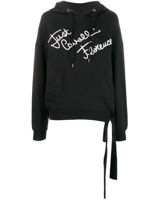 Just Cavalli ロゴ スウェットシャツ Black